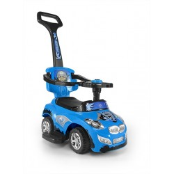 Cavalcabile auto 3 in 1 HAPPY blu