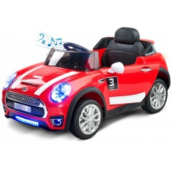 Auto elettrica Maxi 12V Rosso con telecomando