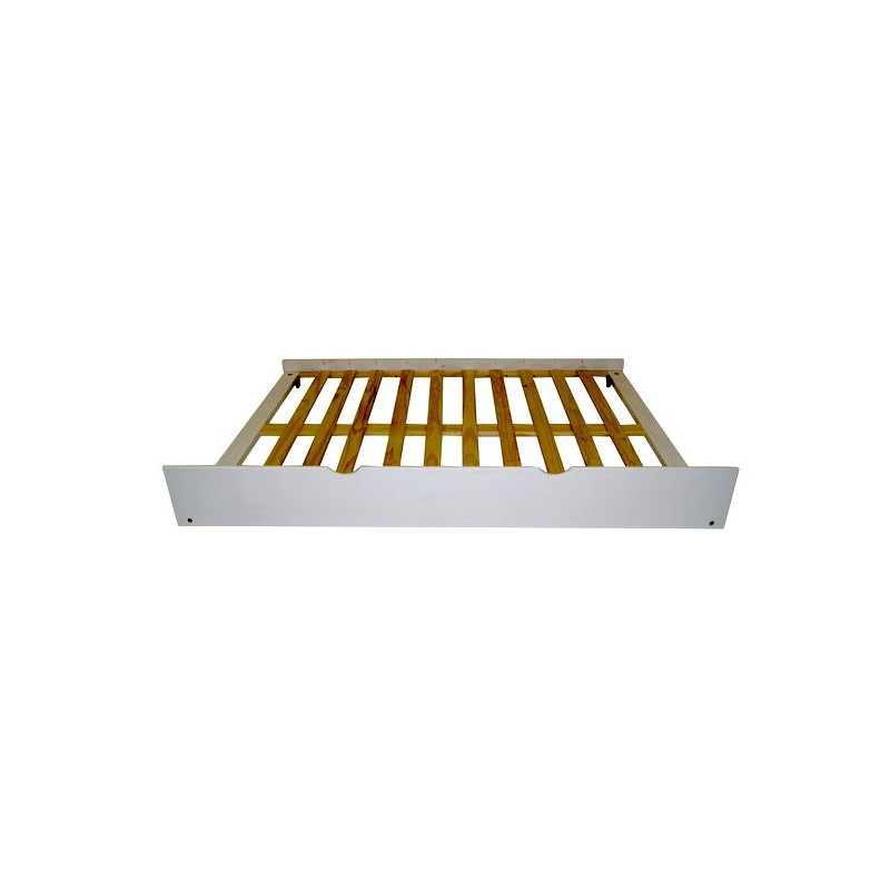 Cassetto sotto il letto estraibile come un secondo letto 100% legno...
