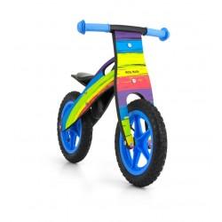 King Arcobaleno - bici bambini in legno senza pedali