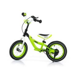 HERO bici senza pedali con freno - verde