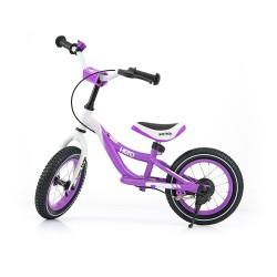 HERO bici senza pedali con freno - viola