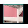 Letto a soppalco Torre della Principessa con materasso e tende