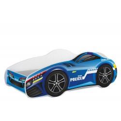 Letto macchina da corsa con materasso 140x70 cm