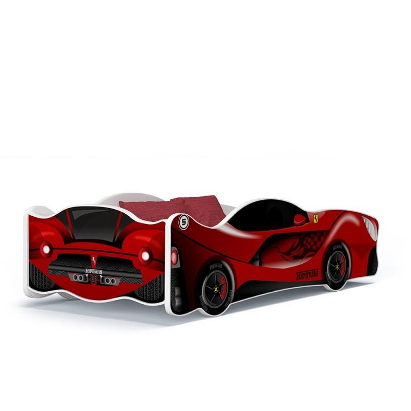 Letto macchina cars bambina bambino 160x80 letti a forma di auto - Letto bambino macchina ...