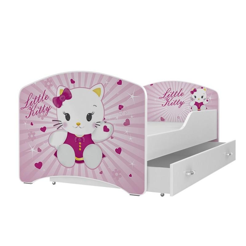 Letti Per Bambini Hello Kitty.Lettino Per Bambini Letto Hello Kitty Dimensioni 140 X 70 Cm Con