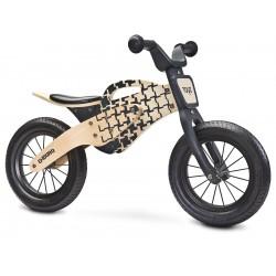 Enduro giallo bici bambini in legno senza pedali