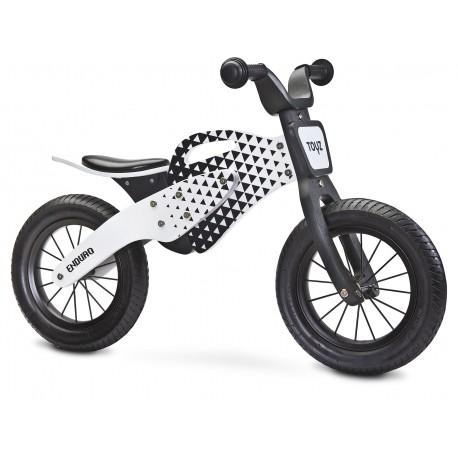 Enduro rosso bici bambini in legno senza pedali