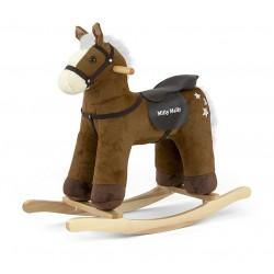 Cavallo a dondolo Pepe bruno