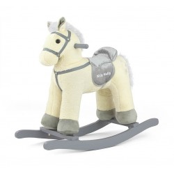 Cavallo a dondolo Pepe beige