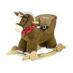Cavallo a dondolo Polly bruno